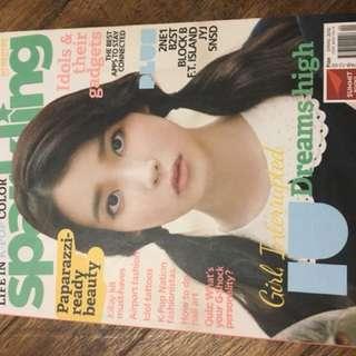 Sparkling Magazine (IU and Boys to Men)