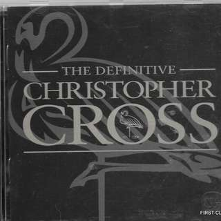 MY PRELOVED CD -THE DEFINATIVE CHRISTOPHER CROSS  /FREE DELIVERY (F7P))