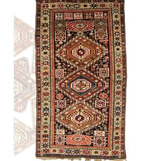 SAMEYEH LOT NO 16304 SHIRWAN FROM CAUCASUS 230 X 120 CM