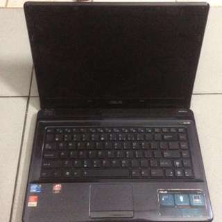 Laptop Asus Gaming A42J Core i3