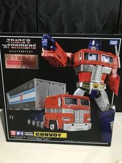 optimus prime transformer masterpiece