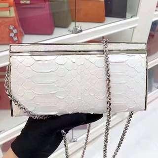 Chanel 女神包✨稀有特殊皮閃鑽手包,亦可斜背☝🏻幾用包