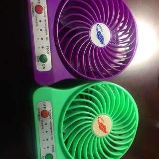 芭蕉 小型電風扇2個