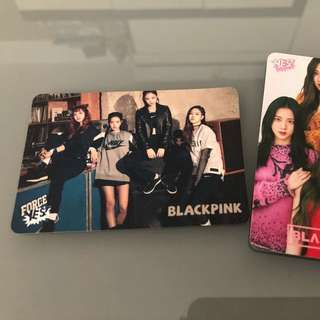 Yes card - Blackpink