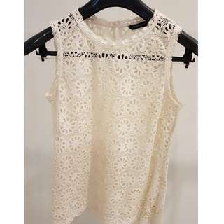 French Connection Lace Top