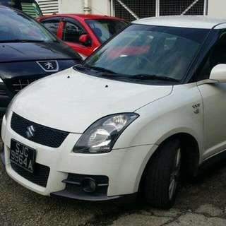 Suzuki Swift Sport ZC31S 1.6L Automatic     -(SG)-