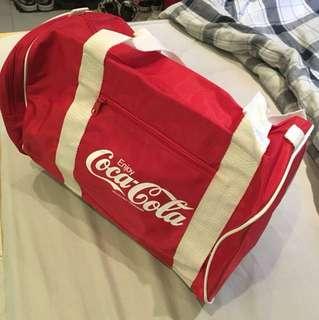 經典可口可樂coca-cola圓桶手抽/單孭袋