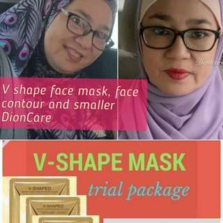 V shape face slimming