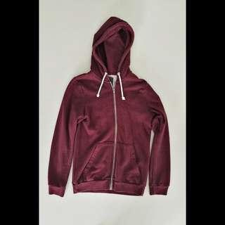 H&M Red Hoodie Jacket