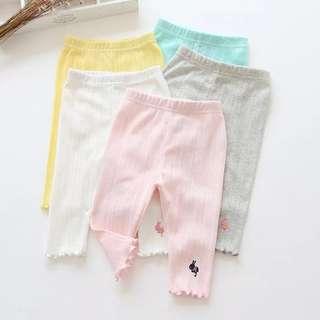 Kids fashion girl pants leggings