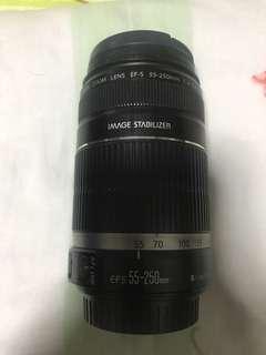 canon efs 55-250 camera lens