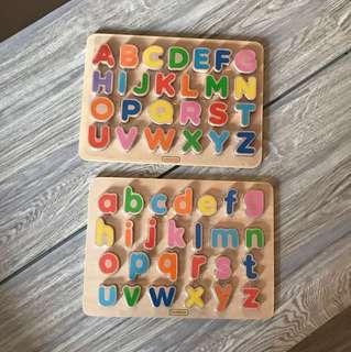 Masterkidz木製拼字母