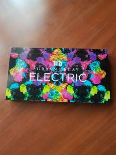 Urban Decay Electric Eyeshadow Palette