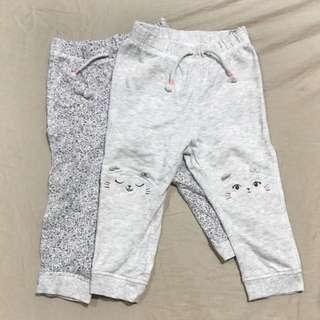 Authentic H&M Cotton Pants Set