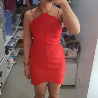 Topshop Little red dress