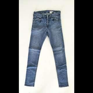H&M Skinny Jeans (Blue)