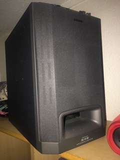sony sa-wms5 active subwoofer