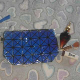 Blue Fancy Pouch