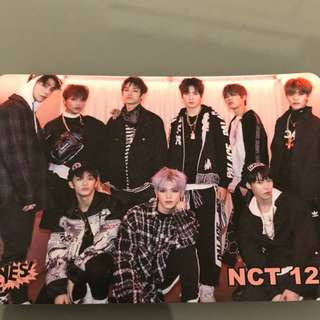 Yes card - NCT 12