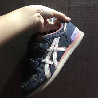 Asics pink and blue