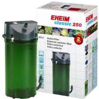 EHEIM classic 250 -2213 external canister filter (without valve) if want the valve it will be another 25 topup)