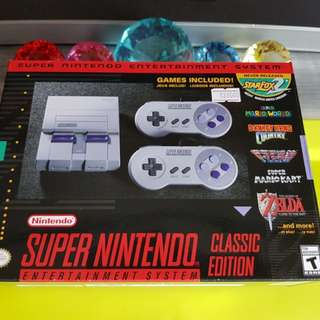 SNES Classic Mini UK Edition