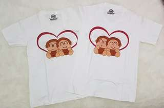 Couple Tee - Monkey In Love