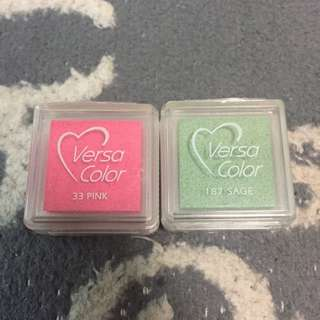 2 for $2 mini versacolor ink pad