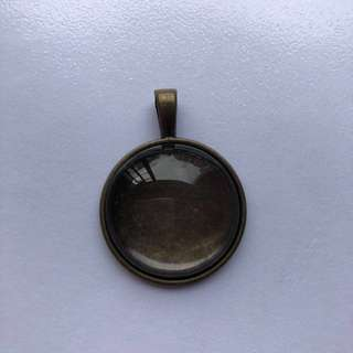 Pendant glass and tray