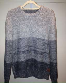 Grey Roots Knit Men's Sweater