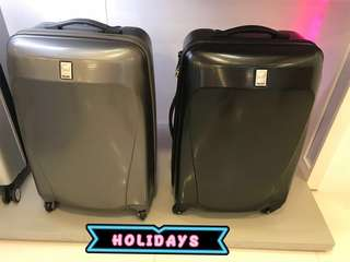 Delsey Luggage 69cm(BLACK)