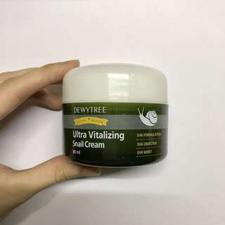 Deweytree Ultra Vitalizing Snail Cream