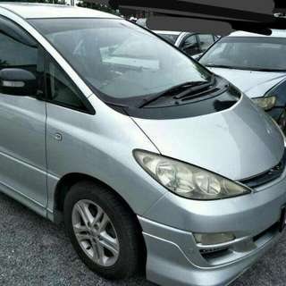 Toyota Estima ACR50 2.4L 4-Speed Automatic       -(SG)-  Year 2006