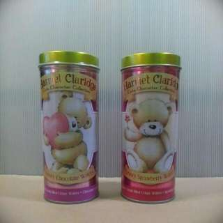 Harriet Claridge Teddy Bear Empty Wafer Tin