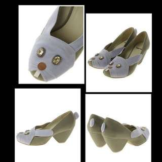 🈹💥🈹💥Buy from Japan Brand Ne net 絕版超型公仔高跟鞋 鞋子shoe 👠👟👢