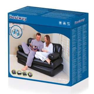 Bestway 5in1 inflatable sofa, inflatable bed