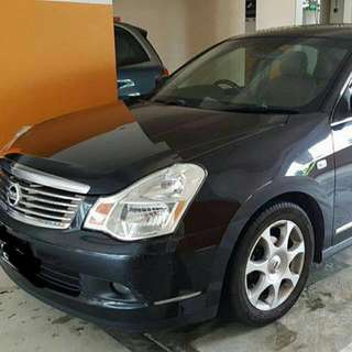 Nissan Sylphy 2.0L 4-Speed Automatic CVT     -(SG)-  Year 2008