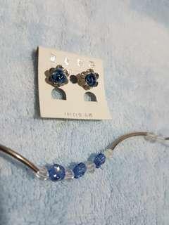 Bracelet & Earrings