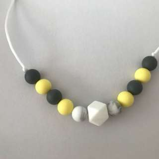 Baby teething necklaces