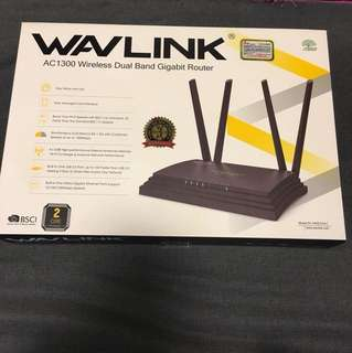 WavLink AC1300 Wireless Dual Band Gigabit Router無線網絡路由器