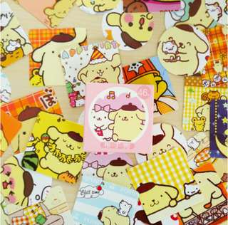 Happy Pompompurin Scrapbook / Planner Stickers #90