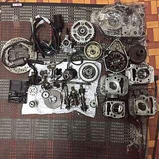 Honda wave 125 parts