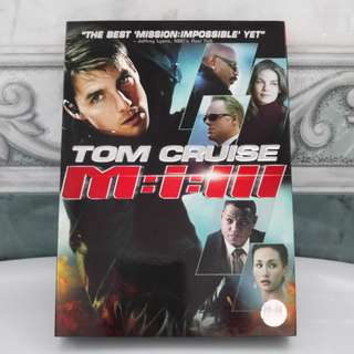DVD M:I:III Mission Impossible 3