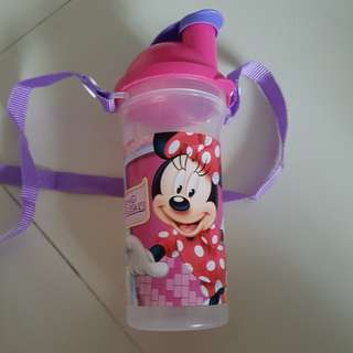 Tupperware Water Bottle Minnie mouse