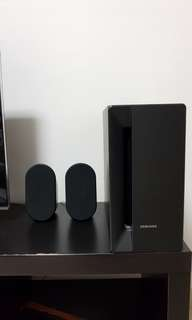 Samsung DVD player and speaker