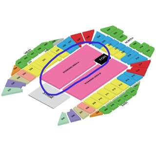 2 FOR $640 | STANDING A BRUNO MARS CONCERT SINGAPORE