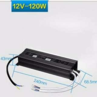 LED Waterproof Driver 12V 120W