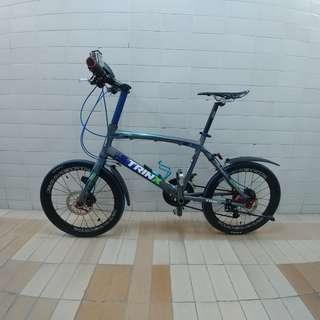 TRINX 20吋 451碟刹 小輪徑單車