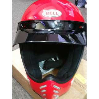 Brand New! Authentic Belll Unisex-Adult Full Face Street Helmet worth $500 - Item already in Singapore