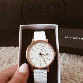 Void Watch White Rose Gold
